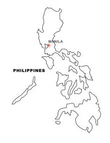 Philippines Map Outline by Geography Philippines Outline Maps