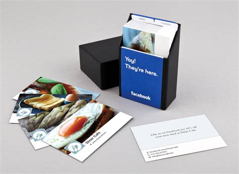 What Is A Facebook Gift Card - moo com lets businesses design cards using facebook pages