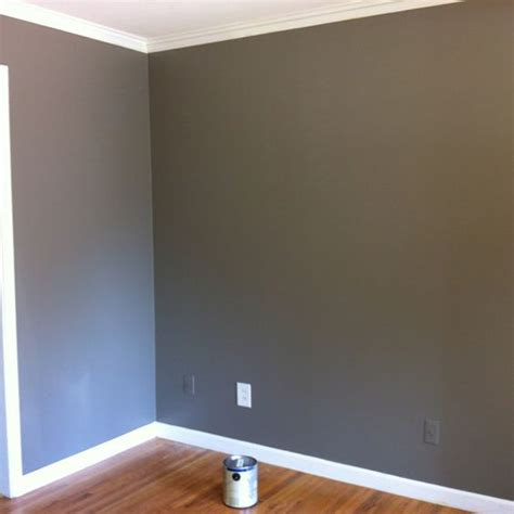valspar color mountain smoke after painting three sles of gray paint on my wall i