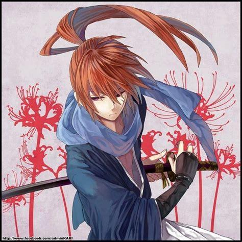 Kaos Putih Ruroni Khenzin Samurai X kenshin himura samurai x anime