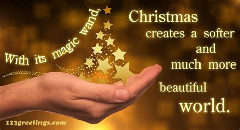 christmas magic wand  merry christmas quotes ecards greeting cards