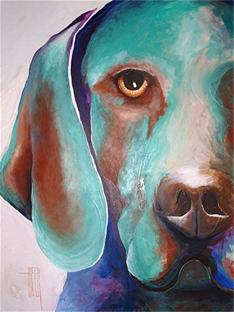 dogs painting abstract painting