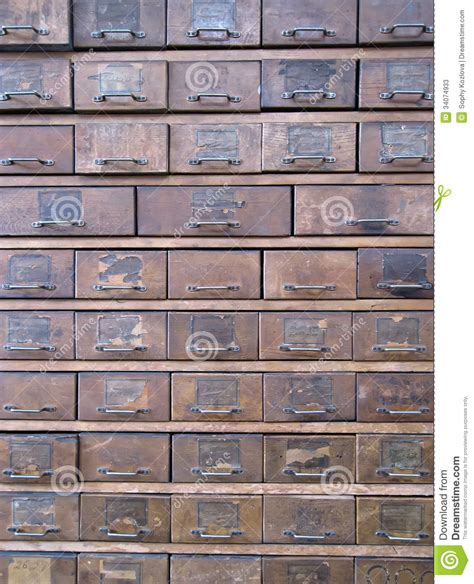 Old Wooden Archive Boxes Stock Photos   Image: 34074933