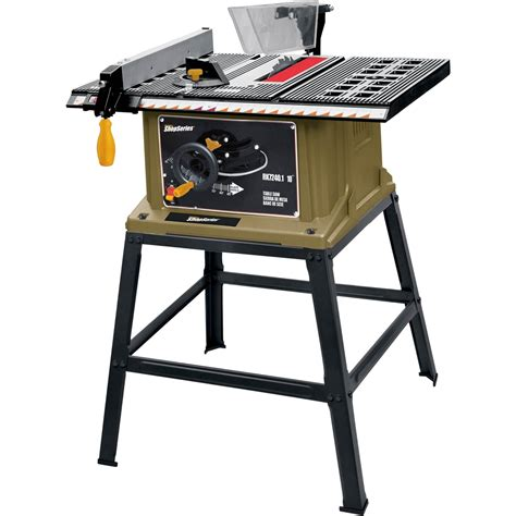 Table Circular Saw by Rockwell 10 In Table Saw With Stand Circular Saws