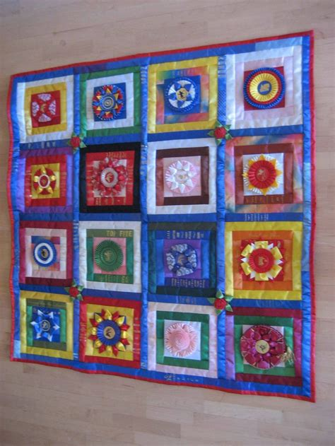 Ribbon Quilts by 17 Best Images About Show Ribbon Quilts On Show Ribbons And Quilt