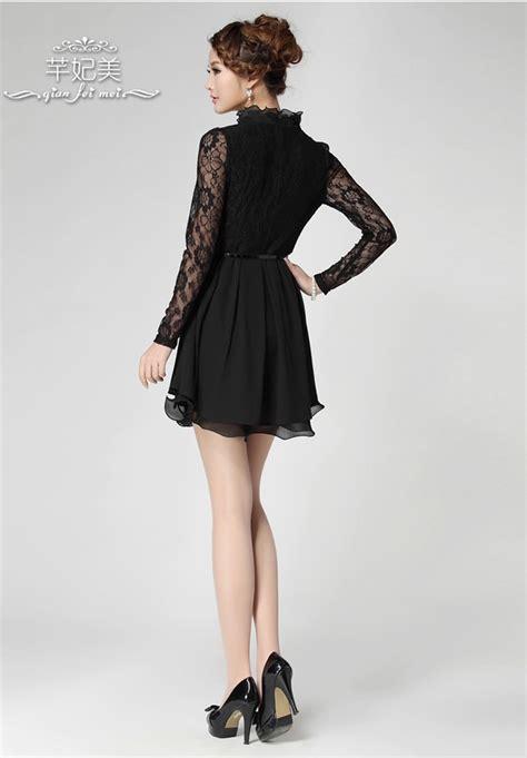 Lace Dress Import black lace dress import kode cs qt55056black zahira