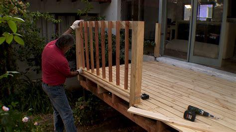 cobertizo rollizos h 225 galo usted mismo 191 c 243 mo construir una terraza de madera