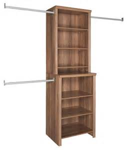 Closetmaid Home Organization Closetmaid Closet Organization Impressions 25 In W Walnut