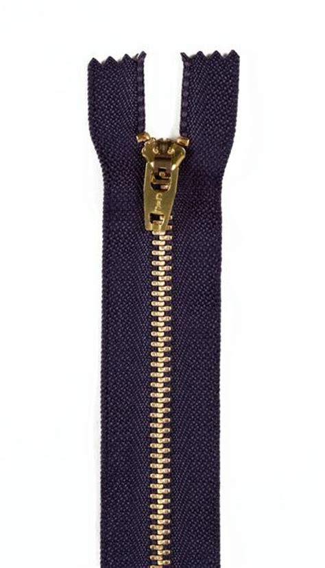 Zipper Big 6 Hitam brass zipper 9 quot navy discount designer fabric fabric