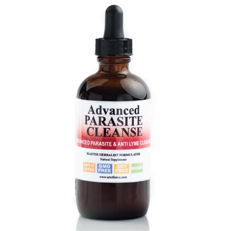 Cleanse Shoo For Advanced Detox by Advanced Parasite Cleanse 4oz Of Detox