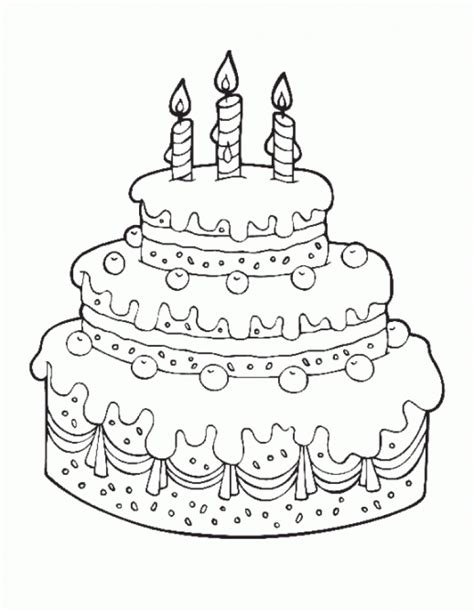 free coloring pages cakes 20 free printable family coloring pages