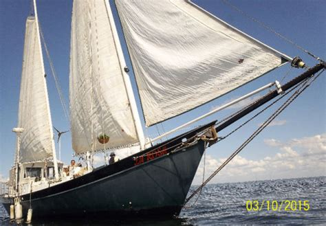 1994 custom built tom colvin steel sailboat in tusket ns - Rc Boats For Sale Ns