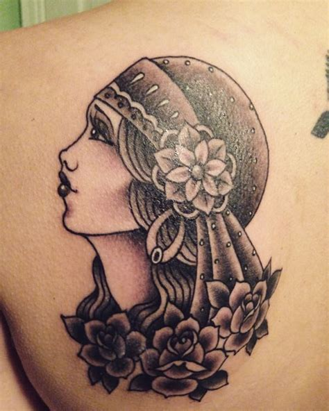 gypsy tattoo 55 beautiful tattoos for those forever wandering