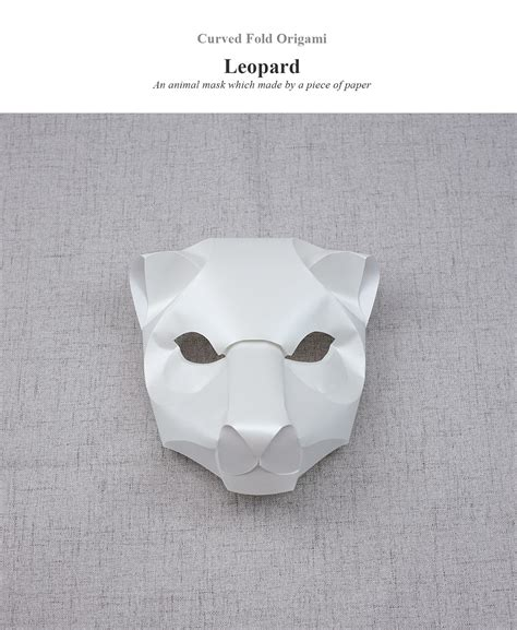 Leopard Origami - curved fold origami leopard on behance