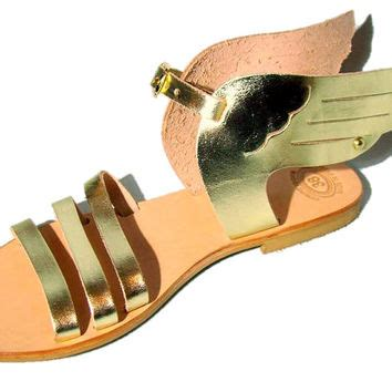 Sandal Hermes Gold 77 best winged sandals products on wanelo