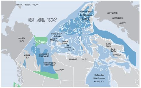 canadian map bodies of water canada s northern strategy our our heritage our