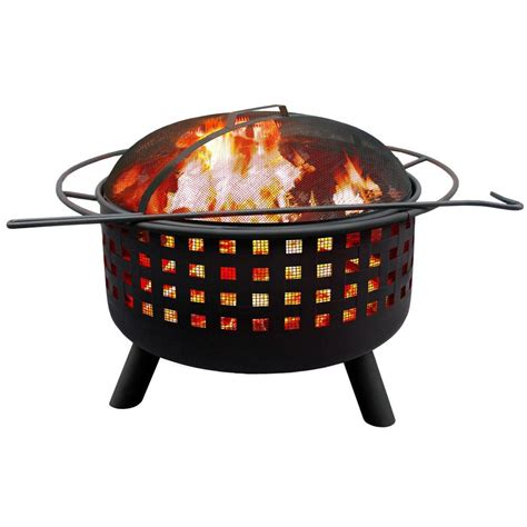Landmann Firepit Landmann City Lights Black Pit 26314 The Home Depot