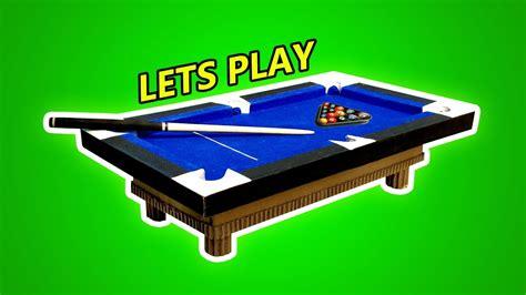 diy mini pool table how to mini pool table set diy pool table