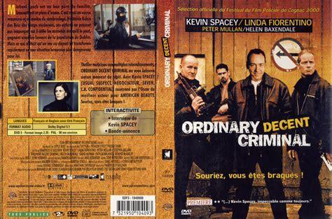 An Ordinary Decent Criminal jaquette dvd de ordinary decent criminal cin 233 ma