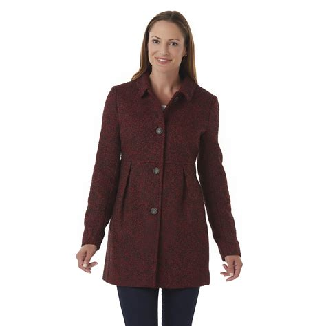 ladies swing coats laura scott women s boucle swing coat
