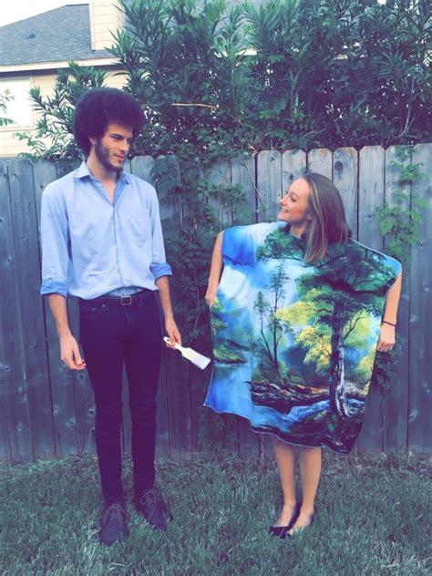 bob ross painting dress costume how to make your own bob ross costume for