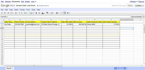 28 investment property spreadsheet rental property