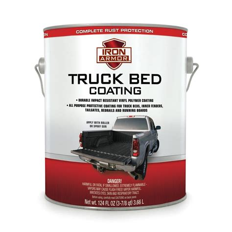 truck bed liner paint truck bed coating liner roll on gallon 65 00