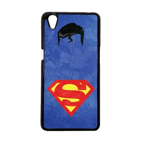 Casing Oppo A37 Oppo Neo 9 Motif Superman 01 jual heavencase superman 10 hardcase casing for oppo a37 or oppo neo 9 hitam