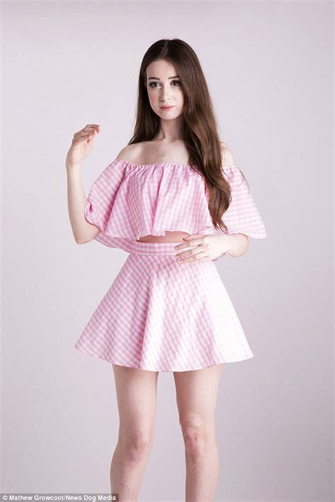 fashion dolls like student with a 22 inch waist who wants to be known as the