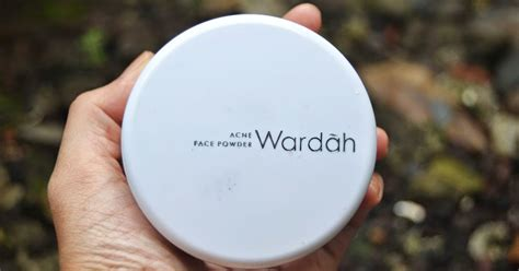 Bedak Padat Wardah Acne Series Review Bedak Tabur Wardah Powder Acne Series One