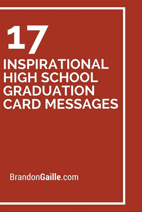 inspirational high school graduation card messages graduation card messages graduation