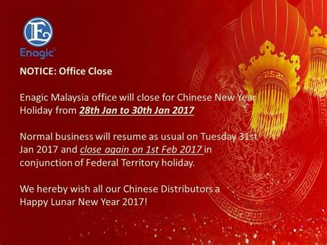 new year greetings malaysia notice office new year celebration
