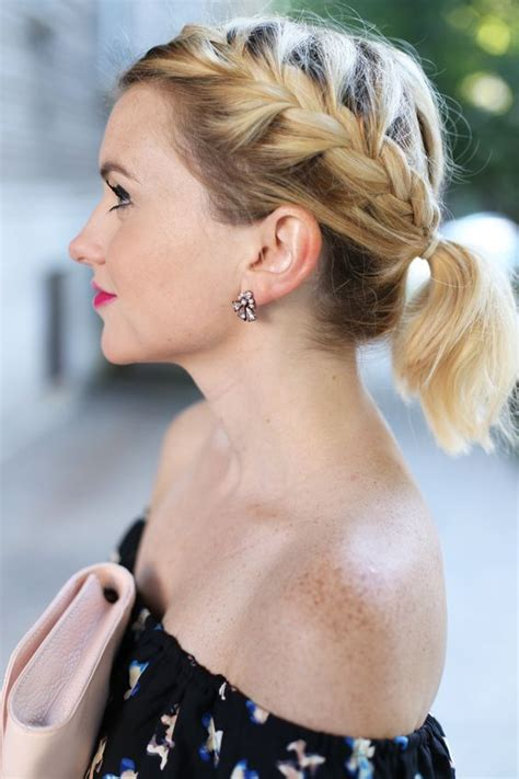 ponytail hairstyles for older women ponytail short hair 5 short hairstyles 2018