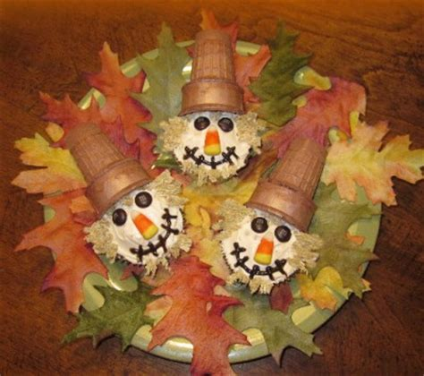 fall festival crafts for scarecrow cupcakes family crafts