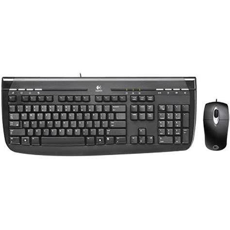 Keyboard Mouse Logitech Usb logitech 350 usb desktop keyboard and mouse 967972 0403