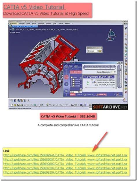 website tutorial software catia video tutorials ready to download cad cam cae