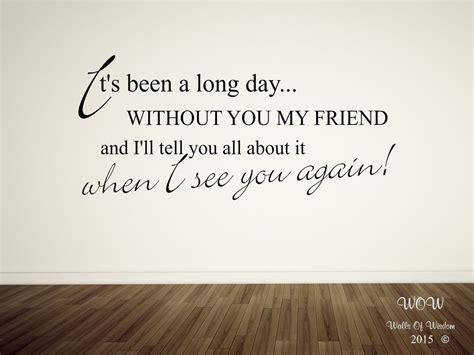 wiz khalifa see you again lyrics puth wall sticker