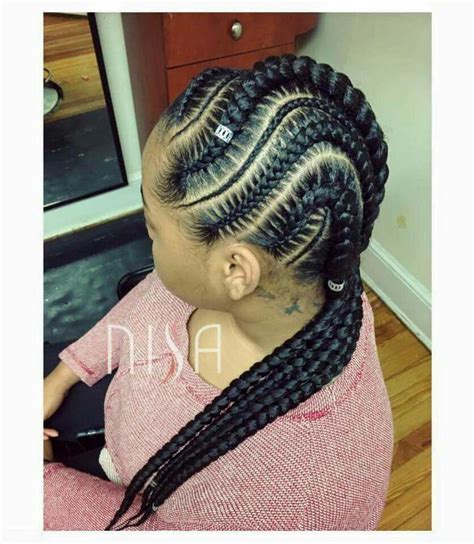 hair cut feeder feed braids hair style pinterest cornrows