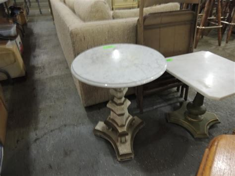 small marble top table small marble top vintage table