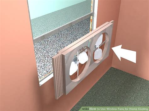 how to install exhaust fan in window the best way to use window fans for home cooling wikihow