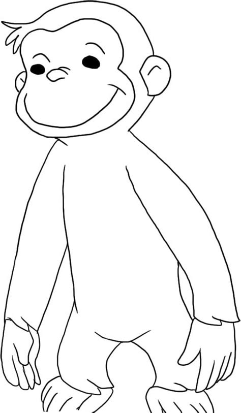 Curiose George Coloring Pages 3 Coloring Kids Curious George Coloring Page