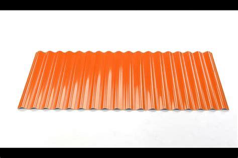 Genteng Acrylic penutup atap bangunan pabrik murah plastik gelombang