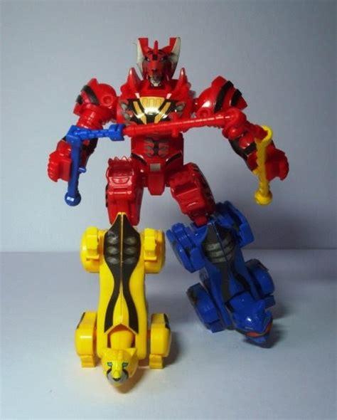 Megazord Power Rangers Jungle Fury chronicles prjf ct jungle pride megazord
