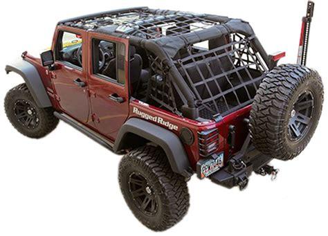 Jeep Wrangler Cargo Net Jeep Wrangler Jk Black Cargo Net Kit 2007 2017 Xxx13552 71