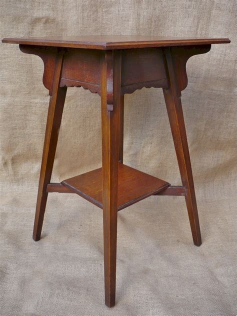 arts and crafts table arts and crafts l table in quarter sawn oak antiques