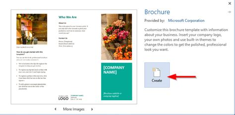 how to get brochure template on word bbapowers info