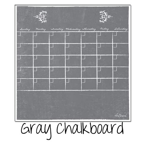 Erase Calendar Erase Calendars Fridge