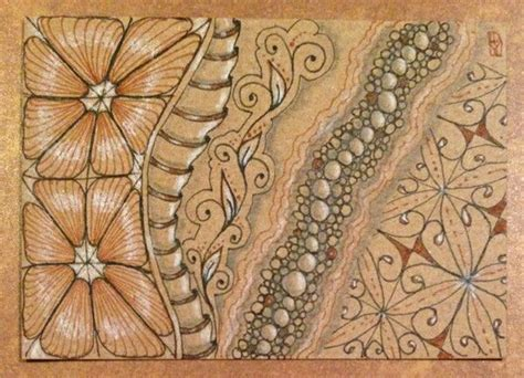 zentangle pattern quipple 120 best zentangle colored paper images on pinterest