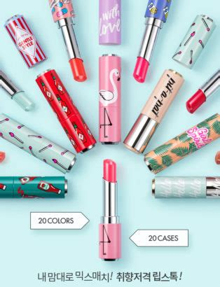 Lipstik Etude Di Korea customise your lipstick with etude house