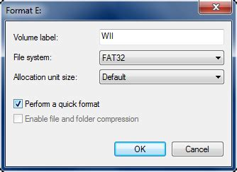 fat32 gui format allocation unit size prepare a sd usb completesoftmodguide